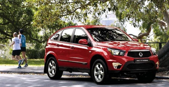 В России остановились продажи автомобилей SsangYong на неопределенное время