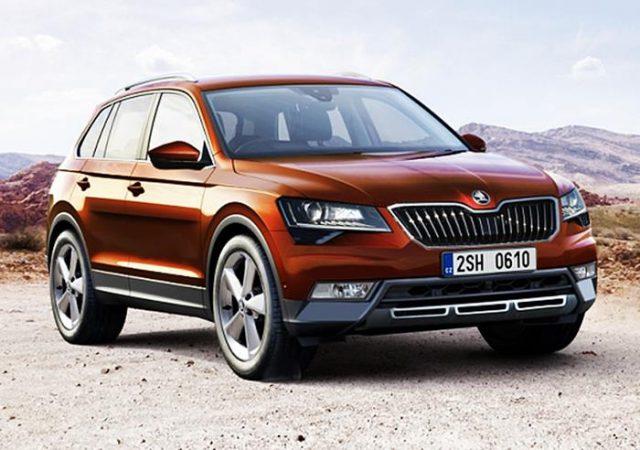 Новинка сегмента SUV Шкода Кодиак будет выпускаться в кузове купе