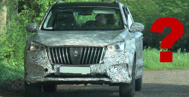 На немецких дорогах тестируется новинка от компании Borgward для китайского рынка