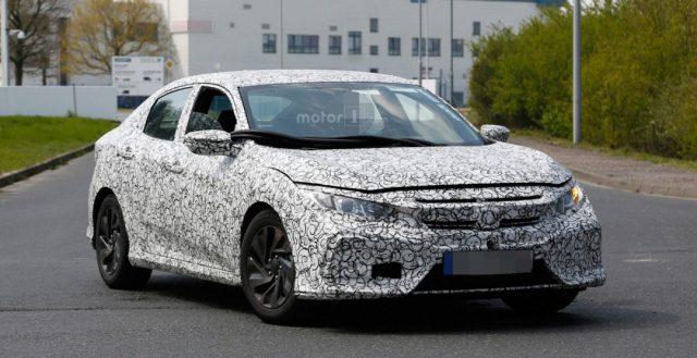 Модель Хонда Civic 2017 модельного года будет оборудоваться литровым турбированным агрегатом