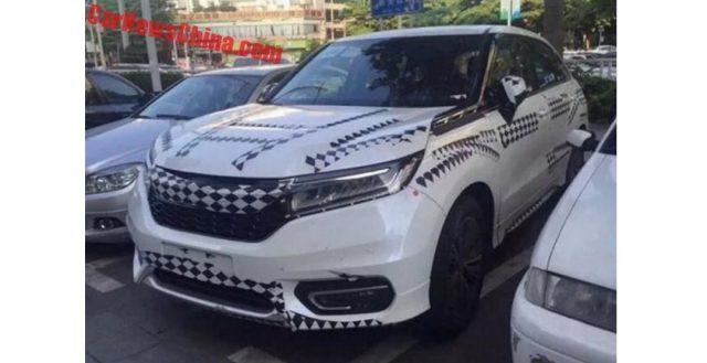 Новинка Хонда Авансир была замечена на дорогах Китайской Республики