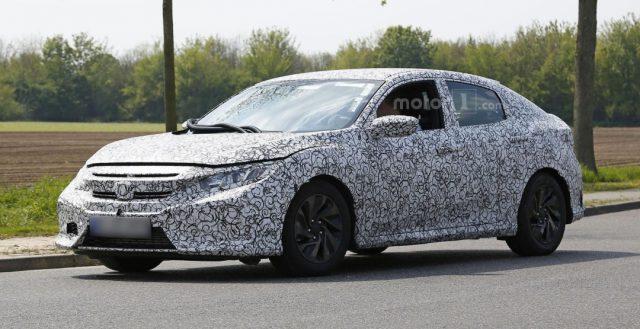 Салон нового Хонда Civic 2017 был рассекречен автомобильными шпионами