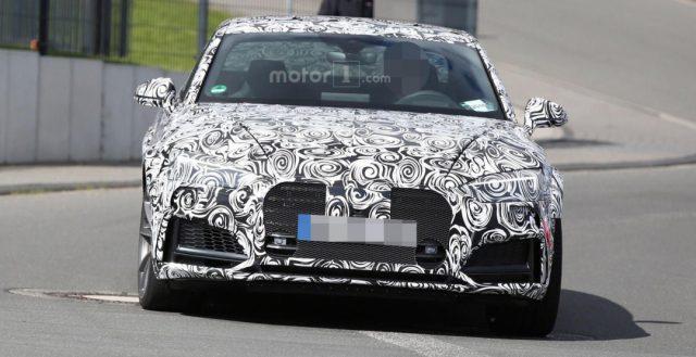Новинка Ауди RS5 купе уже вышла на официальные испытания