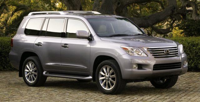 Автомобиль Лексус LX признан самым продаваемым внедорожником во всей линейке компании