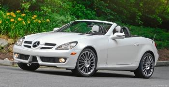 Компания Мерседес организовывает отзыв, в котором примет участие несколько сотен автомобилей SLK300