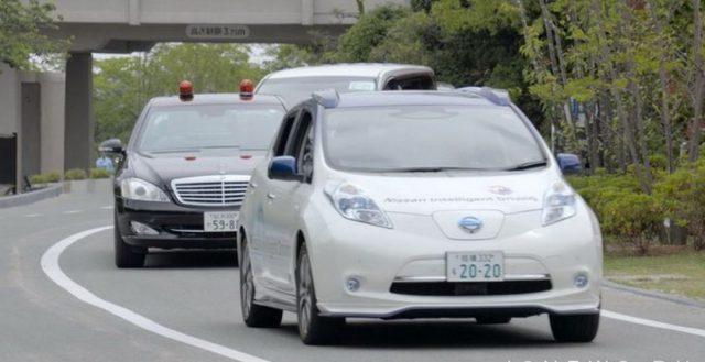 Беспилотник Ниссан Леаф показался на саммите «Большой семерки» в Японии