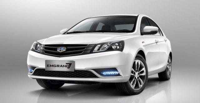 Первые экземпляры китайской новинки Geely Emgrand 7 уже едут в российские автосалоны