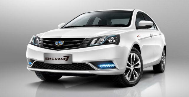 Китайская новинка Geely Emgrand 7 начнет продаваться в России уже в конце этого месяца