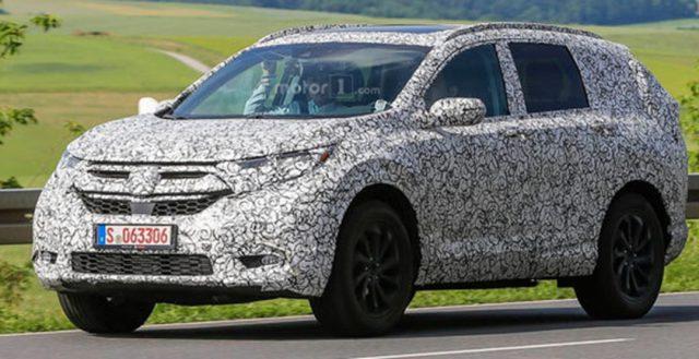 Руководители компании Хонда рассказали о предстоящей презентации новинки CR-V в следующем году