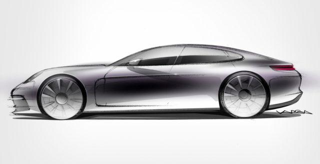 Компания Порше 28 июня покажет новое поколение модели Панамера