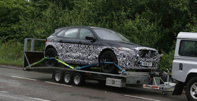 Инженеры бренда Ягуар приступили к тестированию своей гибридной новинки сегмента SUV