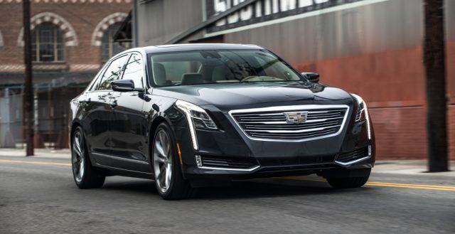 Прошла презентация новинки CT6 2017 модельного года от компании Cadillac