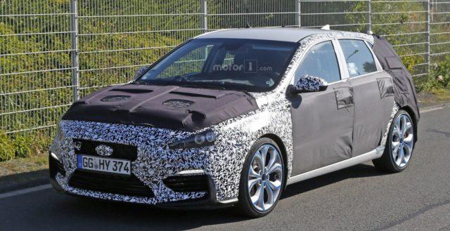 Корейская новинка Хендэ i30 N станет главным соперником для немца Фольксваген Гольф GTI