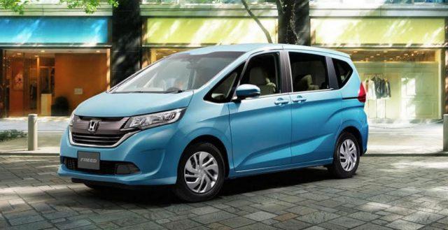 Стало известно, как же будет выглядеть салон японской новинки Honda Freed
