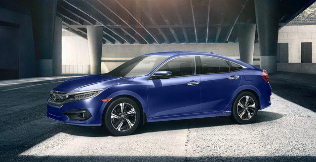 Модель Хонда Цивик — самая популярная легковая модель на территории Северной Америки