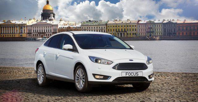 Модель Форд Фокус была признана в прошлом месяце самой популярной моделью среди Россиян