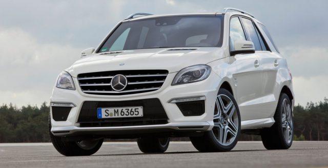 На территории Российской Федерации началась компания по отзыву автомобилей М-класса от Мерседес-Бенц
