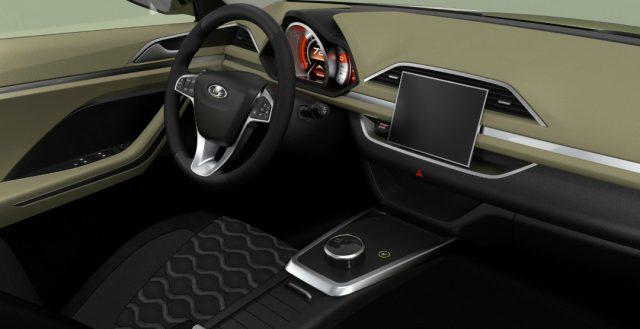 Представители компании «АвтоВАЗ» впервые показали интерьер новинки Lada Xcode