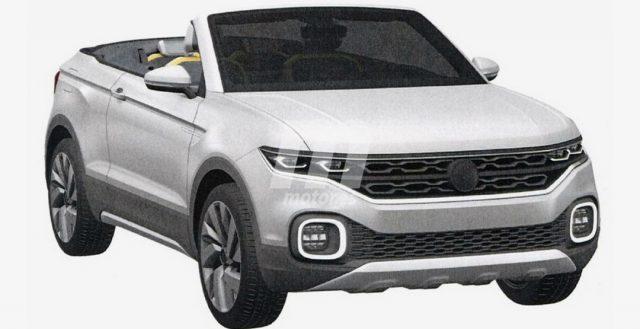 В сети появились патентные фотографии высокого кабриолета от компании Volkswagen