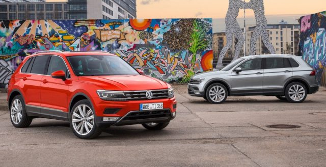 Кроссовер Фольксваген Тигуан стал самой популярной моделью в сегменте SUV на территории ЕС