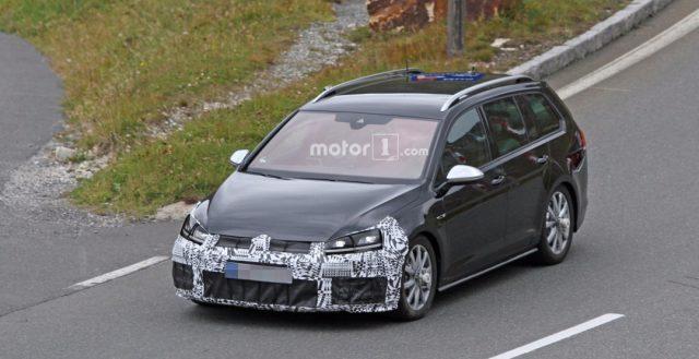 Неизвестный прообраз производства компании Фольксваген появился на дорожных испытаниях