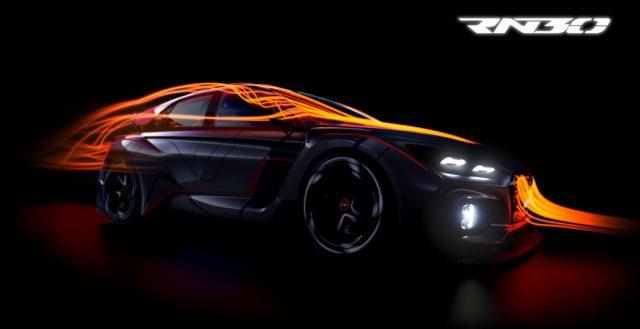 Компания Hyundai покажет публике в Париже свой мощный концепт RN30 Concept