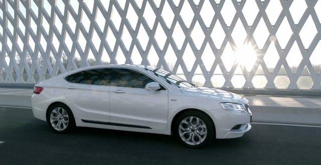 В конце года на российском рынке начнутся продажи китайской новинки Geely Emgrand GT