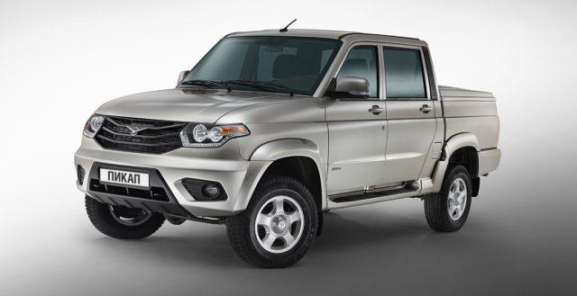 Модель Pickup от компании УАЗ был признан самым востребованным пикапом на рынке Российской Федерации