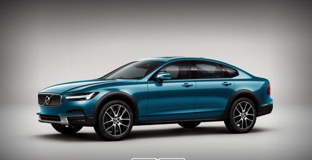 В сети появилась фотография нового седана S90 Cross Country от шведской компании Volvo