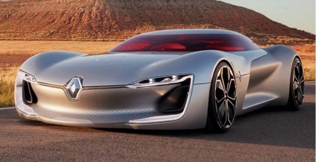 В Париже будет представлена концептуальная электрическая модель Renault Trezor Concept