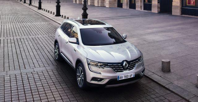 Дорогая французская новинка Renault Koleos Initiale Paris начнет продаваться в РФ в первых месяцах 2017 года