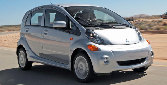 На российском рынке закончились продажи электрокара Mitsubishi i-MiEV