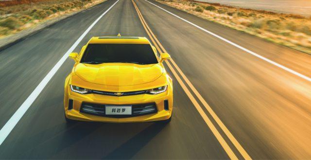 Обновленный Chevrolet Camaro представили в Поднебесной