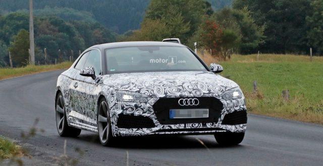 Компания Audi начала тестировать свою очередную новинку RS5 с мощным силовым агрегатом