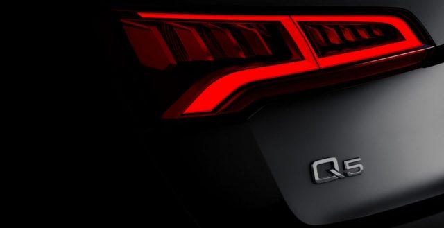 Инженеры Audi установили на свой обновленный кроссовер Q5 пневмоподвеску