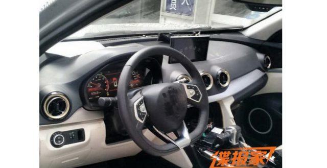 Автомобильные папарацци выложили в Интернет свежую партию снимков салона новинки Haval Coupe