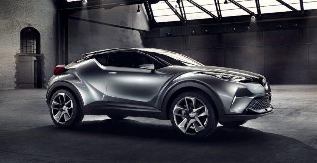 На испанском автомобильном рынке начинаются продажи новинки Toyota C-HR