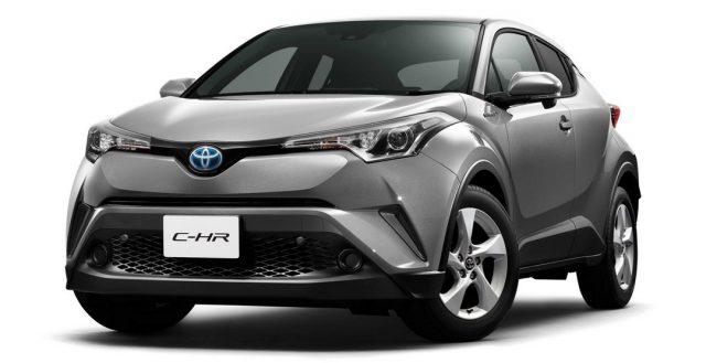 Компания Toyota рассказала об особенностях новинки C-HR для японского автомобильного рынка