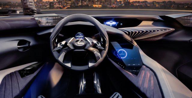Стало известно, как же будет выглядеть интерьер концептуального кроссовера Lexus UX Concept