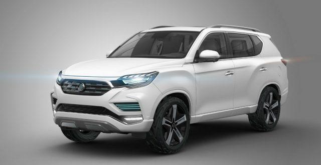 Компания SsangYong готова представить миру свой концептуальный автомобиль LIV-2