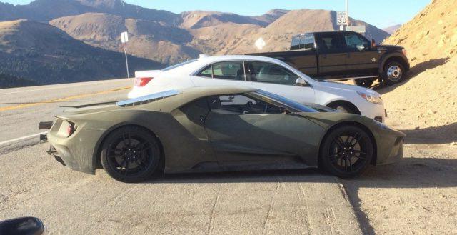 Несколько готовых прообразов GT от компании Ford были замечены шпионами на территории штата Колорадо