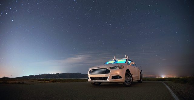 Компания Форд в 2025 году начнет массовый выпуск беспилотных автомобилей