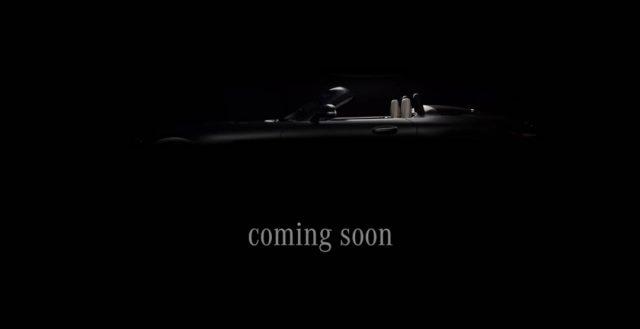 В сети появилось видео нового немецкого родстера от компании Мерседес-Бенц