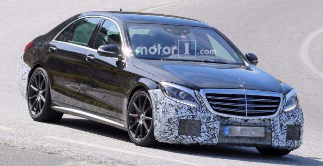 Во время тестирования были замечены прообразы новинок Mercedes-AMG S63 и S-Class 2018 года