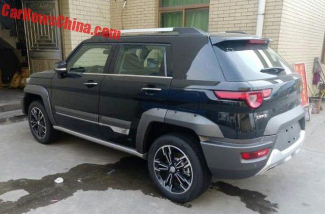 На территории Поднебесной началась официальная реализация новинки Beijing Auto BJ20