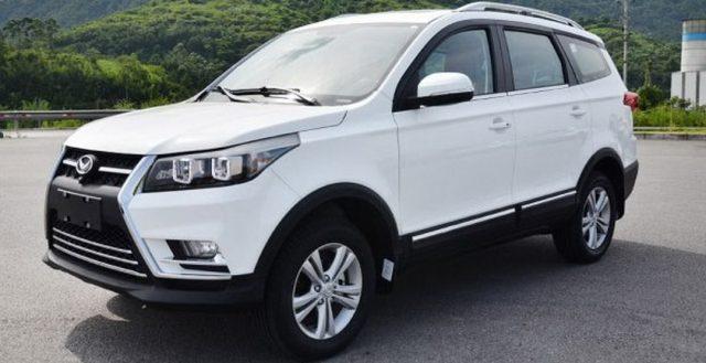 На территории Поднебесной начались официальные продажи новинки BAIC Huansu S3L