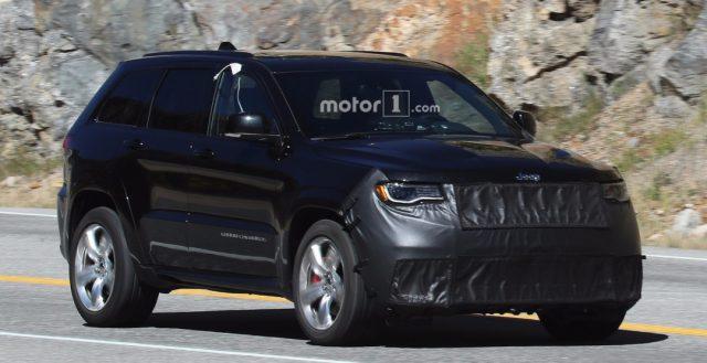 Инженеры бренда Jeep продолжают испытывать мощную новинку Grand Cherokee Trackhawk