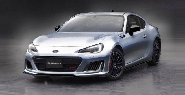 Руководители Subaru сообщили о выходе своего спортивного купе BRZ STI SPORT CONCEPT