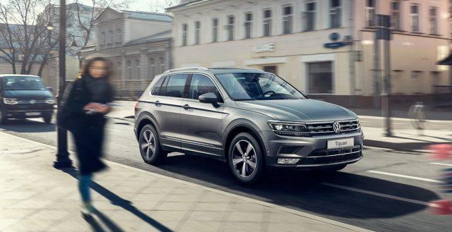 Стали известны российские ценники на обновленный Volkswagen Tiguan