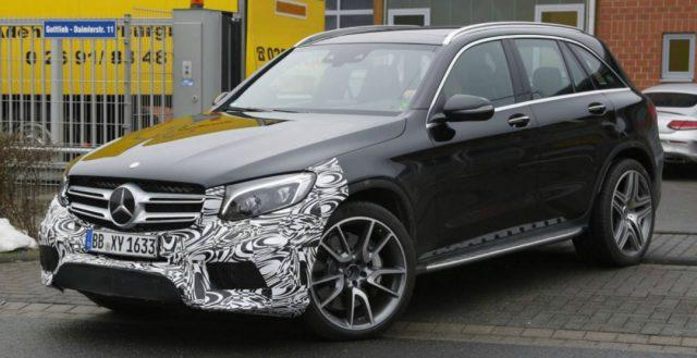 Шпионы рассекретили внешность новинки Mercedes-AMG GLC 63